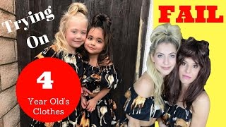 Squeezing into Everleigh Rose Soutas & Ava Marie Foley's clothing and recreating their BEST Instagram photos! Cringy and far...