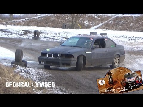 Amatőr Rallye Pályanap 2017 - ofonrallyvideo