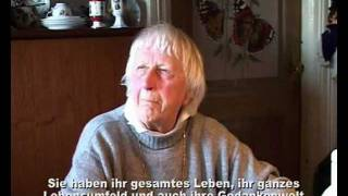 An interview with the Grand Madame of the North Frisian minority, Ms Marie Tångeberg, at her home in Äfkebel, North Frisia.