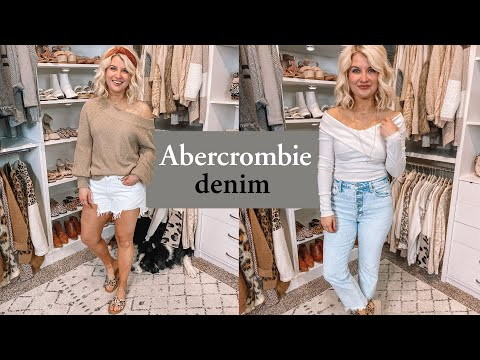 Abercrombie Spring Denim Haul! (Stuck at Home Edition)