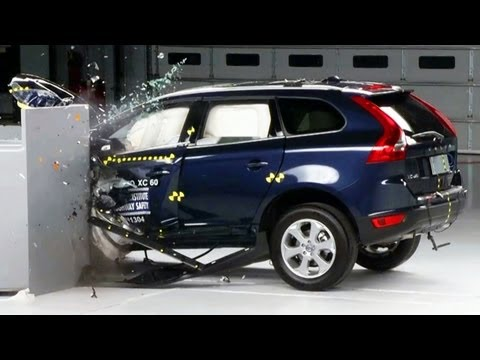 volvo - We visit Ruckersville, VA and the Insurance Institute for Highway Safety's Vehicle Research Center. IIHS is crash testing the 2013 Volvo XC60 in one of their...