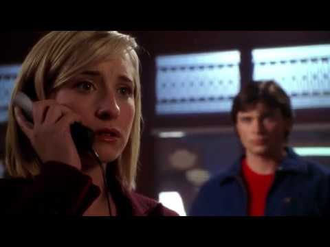 Smallville 5x12 - Clark tells Chloe that he has already lived this day before