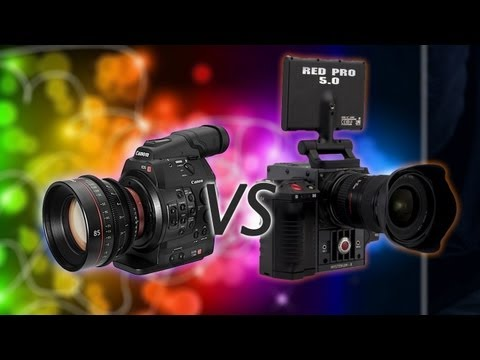 RED Epic - Ryan shares his thoughts on the new Canon C300 and the Red Scarlet cameras! Watch Mobius: http://bit.ly/vincentblog Vincent Laforet's Blog http://bit.ly/sdgy...