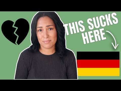 2 of the Hardest Things About Living in Germany