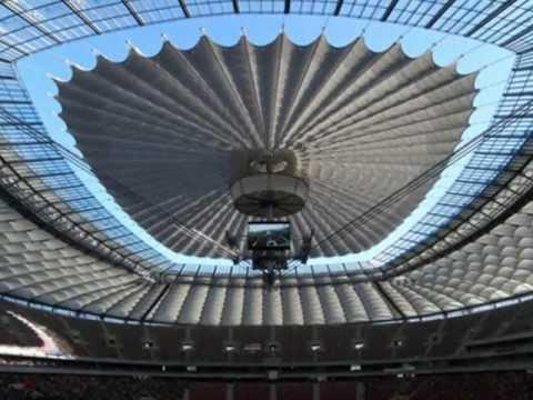 Imágenes del Estadio Nacional de Polonia