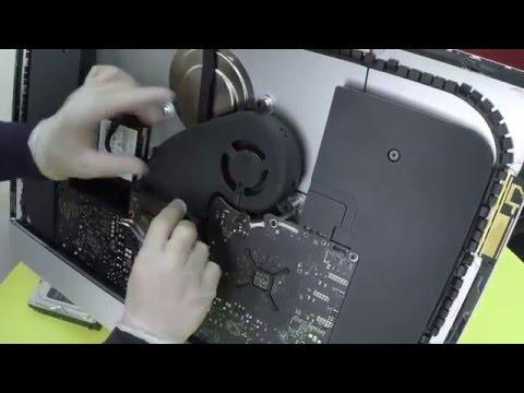 Смотреть / Часть 2. Чистка от пыли iMac A1419 / WaterVideo.ru / видео онлайн в хорошем качестве