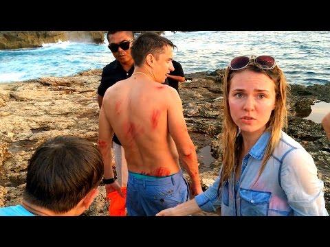 Опасные Волны На Бали Убивают Туристов!!