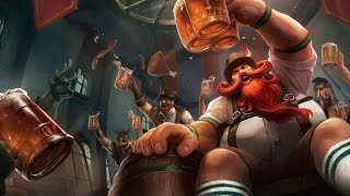 Killing Tristana, Brand and Garen with Gragas in ARAM.Skin used- Oktoberfest Gragas