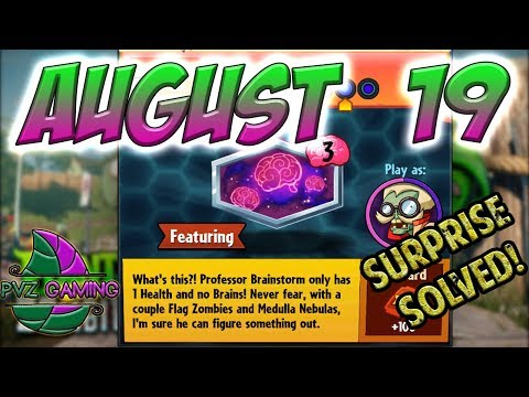 PvZ Heroes: Daily Challenge 08/19/2018 (August 19) – Surprise [August 19th]