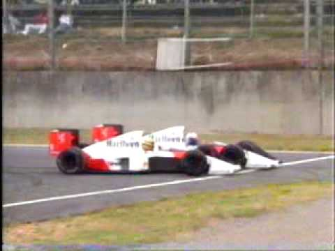 incidente senna - prost a suzuka 1989