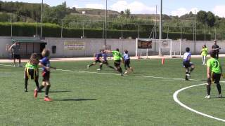 Bigues Spain  city photos gallery : Molina VIPERS vs Bigues i Riells CELTAS mejores momentos 1ª parte. SPANISH FLAG BOWL