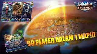 Video 99 PLAYER DALAM 1 MAP? BISA!!! NEW SURVIVAL MODE MOBILE LEGENDS MP3, 3GP, MP4, WEBM, AVI, FLV Oktober 2018