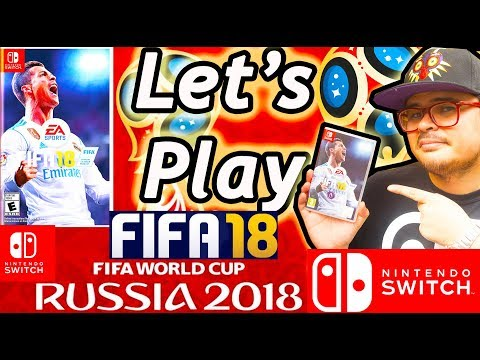 Let's Play - Fifa 18 World Cup Update - Nintendo Switch