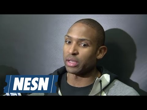 Video: Al Horford after the Celtics win over the Heat