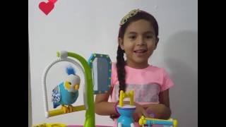 En este video les presento a el pajarito Lulú. Es muy divertido ya que incluye un gimnasio y realiza muchas funciones. Espero que les guste. Gracias Besitos 🤗🤗