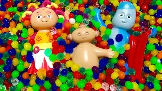 IN THE NIGHT GARDEN Toys Orbeez Hiding Game!