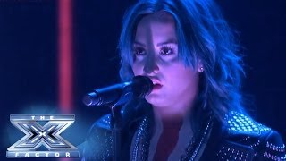 Demi Lovato is Live On Stage! - THE X FACTOR USA 2013