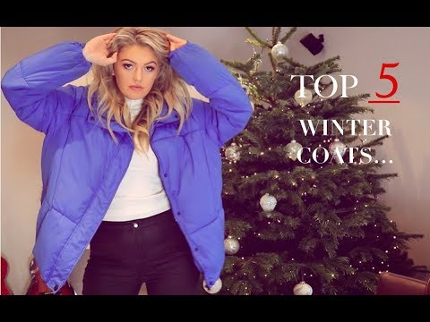 MY TOP 5 WINTER COATS | MISSGUIDED, ZARA & MORE!!