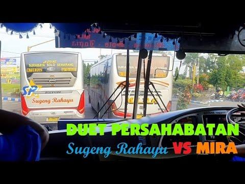 Download Video [REALSOUND] Aksi Bus Sugeng Rahayu VS MIRA Kejar-kejaran di Daerah Nganjuk