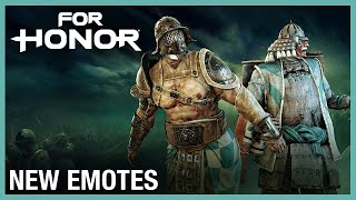 For Honor: New Emotes | Weekly Content Update: 07/02/2020 | Ubisoft [NA] by Ubisoft