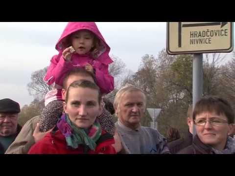 TVS: Dolní Němčí - Obec si připomněla bitvu na Luckém poli