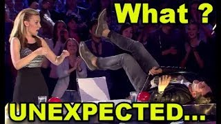 Video 10 MOST *UNEXPECTED MOMENTS* EVER ON GOT TALENT WORLD! MP3, 3GP, MP4, WEBM, AVI, FLV Mei 2018