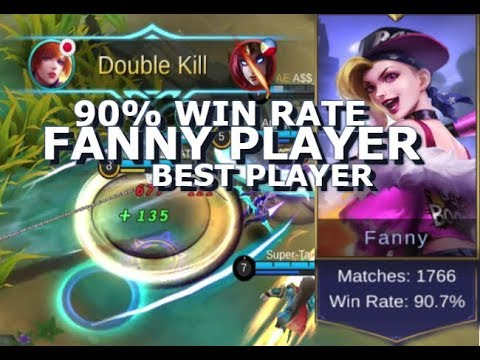 90% Win Rate Fanny ! Best Fanny Player - Mobile Legends - Guide - Tips - Giveaway (видео)