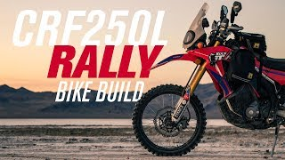 10. Honda CRF250L Rally Bike Build