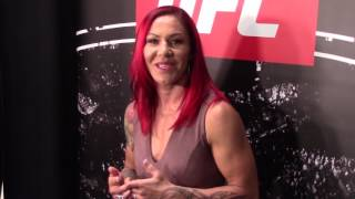 Cris Cyborg Boxing Talks About Boxing With Claressa Shields Ahead of UFC 214 Title Fight