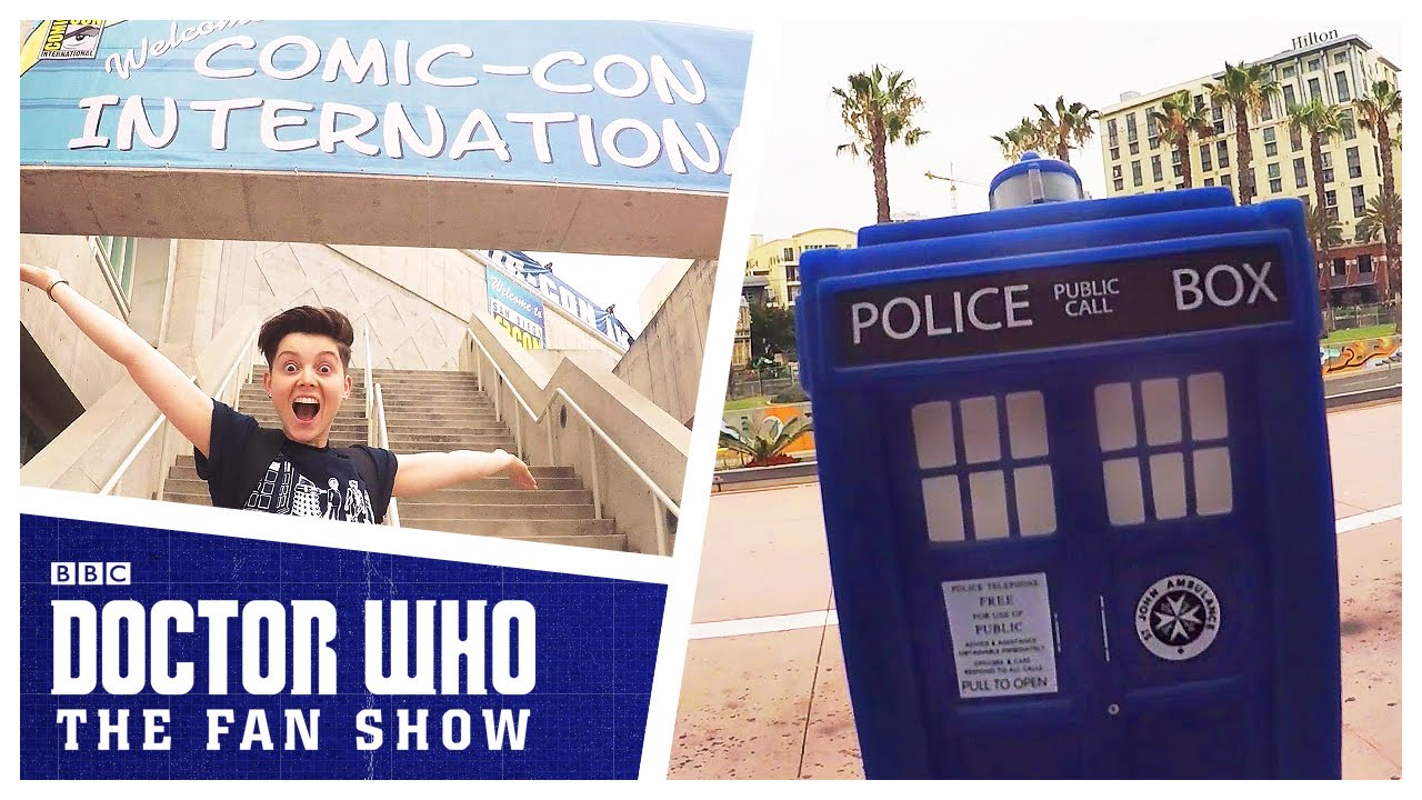 Doctor Who: The Fan Show Lands At San Diego Comic Con!