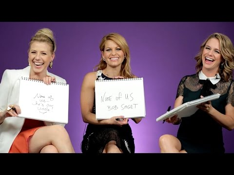 The Fuller House Cast Plays The BuzzFeed BFF Game