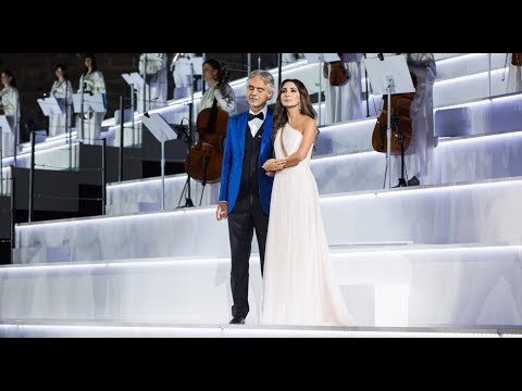 Zara and Andrea Bocelli - Cheek to cheek (@Intimissimi on ice 2017)