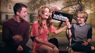 Alexander and the Terrible, Horrible, No Good, Very Bad Day Interviews   Radio Disney Insider