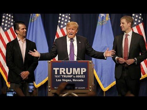ΗΠΑ:Ευρεία νίκη για τον Ντόναλντ Τραμπ στη Νεβάδα