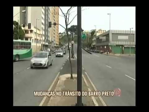 Trânsito na Avenida Bias Fortes é alterado no Barro Preto