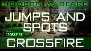 These are the best Jump, Spots, Tips and Tricks within the new CROSSFIRE Map on Call of Duty Modern Warfare Remastered. Find out the Glitches, jumps and best hiding places and spots that still work from the old COD 4 Modern Warfare maps that work on the new Modern Warfare Remastered Maps along with new ones too. Best hiding places for all maps.JOIN THE BUSH BATTALION!Follow My Twitter to Stay Connected- https://twitter.com/mightybush12Like My Facebook Page and keep updated- https://www.facebook.com/mightybush12Subscribe to my channel- https://www.youtube.com/channel/UC41t_-nxA8_GZfWn6dgn0Og?sub_confirmation=1Thanks for watching the video and please leave your feedback such as likes and comments to support me on YouTube and help me keep a drive for uploading videos for you guys.I upload Call of Duty, Minecraft and GTA 5 Tips and funny gameplays on my channel so remember to subscribe so you don't miss out! I lost a channel that had 15,000 Subscribers and i am working my way back and above that number and back to my 3 million views i had. I need all the support i can get from you guys and every subscriber, like and comment means the world to me so don't forget to do these as these so motivate me each and every day. Stay close guys and lets build this BUSH BATTALION!