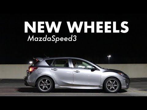 New Wheels for the MazdaSpeed3
