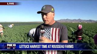 Fox 10 Arizona Morning visits Rousseau Farms