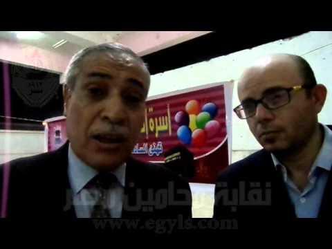 حسن أمين: خلال كلمته بحفل تكريم المتفوقين من ابناء المحامين