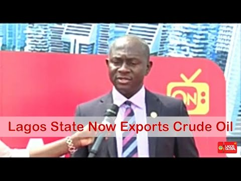 LAGOS STATE NOW EXPORTS CRUDE OIL