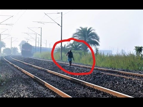 Video SHOCKING VIDEO | Live Accident Caught On Camera | Man Somehow Managed to Avoid being Hit by Train download in MP3, 3GP, MP4, WEBM, AVI, FLV January 2017
