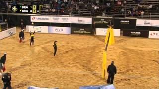 Larissa And Talita Win Gold On Parana Beach - Universal Sports