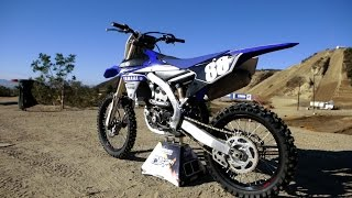 2. First Ride 2017 Yamaha YZ250F- Motocross Action Magazine