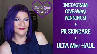 PR Skincare + Instagram Giveaway Winnings +Ulta Mini Haul!💜It may take me a bit to respond to comments!!!!!! I'm out of the country until July 15th💜Hi, Everyone!In this video, I share a new PR skincare, Instagram Giveaway Winnings that I received, and an Ulta mini haul! I hope you enjoy!!!xoxo💋Marlene💞Visit the fabulous ladies on YouTube:http://ohcarolshow.blogspot.com/💞💞How I save money:eBates: https://www.ebates.com/r/THOMPS3547?eeid=28187 (we'll both receive a gift card for signing up)DiscountCodes: I do not receive any monetary compensation if you use my codes. This is just a savings for you.💜SqHair Bands: MARLENE OR MARLENE6 (both codes will work and good until September 30, 2017; $3.99 off a $20 or more order) https://sqhairbands.com/💜American Culture Pure Blends Shampoo & Conditioner (Use my code MARTHOM25 to save 25%)http://bit.ly/2oW5NXZ▶💄For New Creators:Sub4Sub: Is Sub For Sub Good or Bad?http://bit.ly/2paWckN💜If you love art, stop by my brother's (William Braemer) art gallery in Miami! This video includes a bit of footage from our beautiful Miami!Art Fusion Galleries: ( Luminescent Infusion Opening Night Event, April 26) http://bit.ly/2qeumBu📧Business Inquiries: fabglam50@gmail.com📧📧📧📧📧📧📧📧📧📧📧📧📧📧📧📧📧📧📧📧📧📧📧📧Send Me A Postcard Fab and Glam Over 50125 E Merritt Island CausewaySte 107   #270Merritt Island, Fl 32952💜💜FTC: I receive a few pennies when you click on the magiclinks below. There will NO additional charges to your purchase(s). I added a discount code of $3.50 for some products. Use if you like; this is a discount for you. I'm not certain how long it will last.💜What I'm Wearing:😍Top: StitchFix: http://bit.ly/2svele6😍Earrings: H&M💜Products Mentioned: PR Skincare:💜BeautyProof Skincare: Made in USA & Cruelty-Free💜PUR_SkincareInstagram Winnings:💜NuFACE Trinity Collagen Booster Bundle http://go.magik.ly/ml/5l96/💜Algenist ELEVATE Advanced Lift Contouring Cream http://go.magik.ly/ml/5l98/Gifts from My Girls:💜BECCA First Light Priming Filter: http://go.magik.