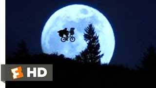 Across The Moon - E.T.: The Extra-Terrestrial (7/10) Movie CLIP (1982) HD