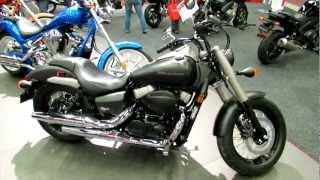 6. 2012 Honda Shadow Phantom VT750C2B at 2012 Montreal Motorcycle Show