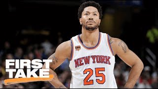 First Take debates whether Derrick Rose can help the Cleveland Cavaliers compete with the Golden State Warriors.  ✔ Subscribe to ESPN on YouTube: es.pn/SUBSCRIBEtoYOUTUBE✔ Watch ESPN on YouTube TV: es.pn/YouTubeTVGet more ESPN on YouTube:► First Take: es.pn/FirstTakeonYouTube► SC6 with Michael & Jemele: es.pn/SC6onYouTube► SportsCenter with SVP: es/pn/SVPonYouTubeESPN on Social Media:► Follow on Twitter: http://www.twitter.com/espn► Like on Facebook: http://www.facebook.com/espn► Follow on Instagram: http://www.instagram.com/espnVisit ESPN on YouTube to get up-to-the-minute sports news coverage, scores, highlights and commentary for NFL, NHL, MLB, NBA, College Football, NCAA Basketball, soccer and more. More on ESPN.com: http://www.espn.com