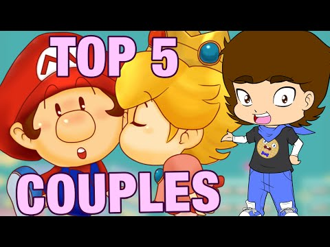 Top 5 Cutest Couples In Video Games! - Connerthewaffle