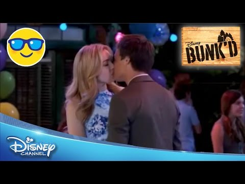 Bunk'd   Emma and Xander Kiss   Official Disney Channel US