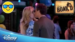 Bunk'd | Emma and Xander Kiss || Official Disney Channel US